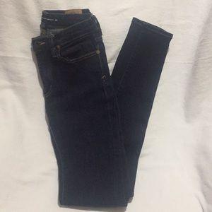 Ralph Lauren Dark Denim Skinny Jeans